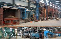 5T-100T/H Sand Process Molding System Easy Operation Less Energy Consumption