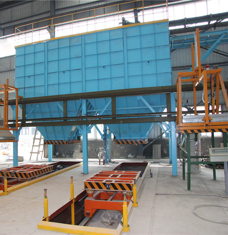 High Recovery Rate V Method Foundry Production Line Vacuum Process Casting